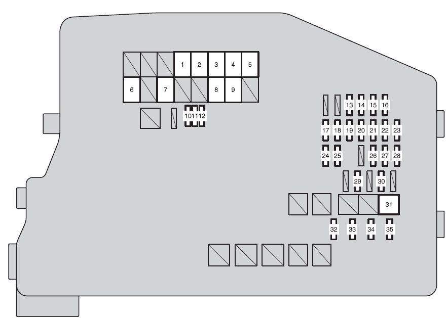 Scion tC (2014 - 2016) - fuse box diagram - Carknowledge.infoCarknowledge.info