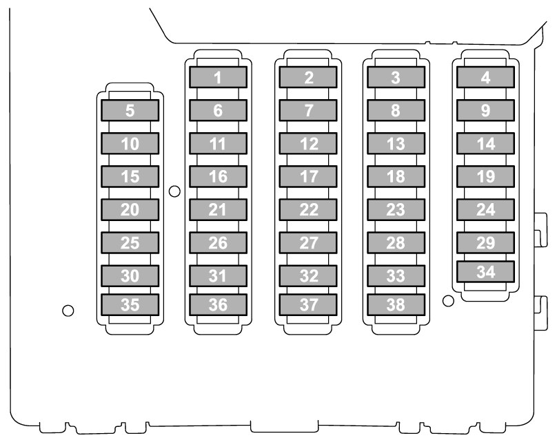 [SCHEMATICS_4HG]  Subaru Legacy (2015) - fuse box diagram - Carknowledge.info | Fuse Box 1994 Subaru Legacy |  | Carknowledge.info