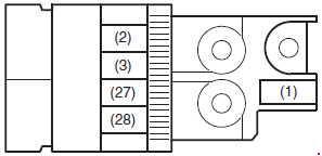 Suzuki Celerio - fuse box diagram - engine compartment