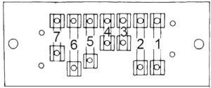 AMC Pacer - fuse box diagram - type 1