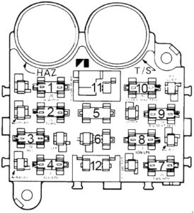 AMC Spirit - fuse box diagram