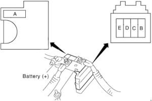 Infiniti FX35 - fuse box diagram - fusible link block