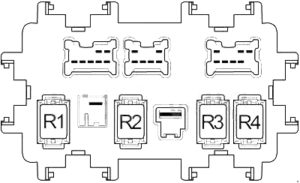 Infiniti G25 - fuse box diagram - passenger compartment fuse box